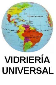 Primer logo Vidriería Universal